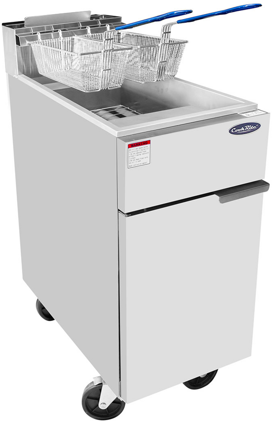 Stand-Up Fryer