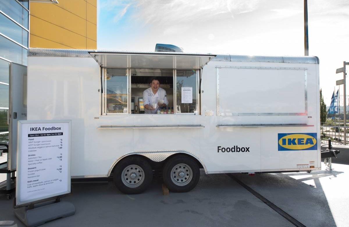 IKEA Food Box Trailer