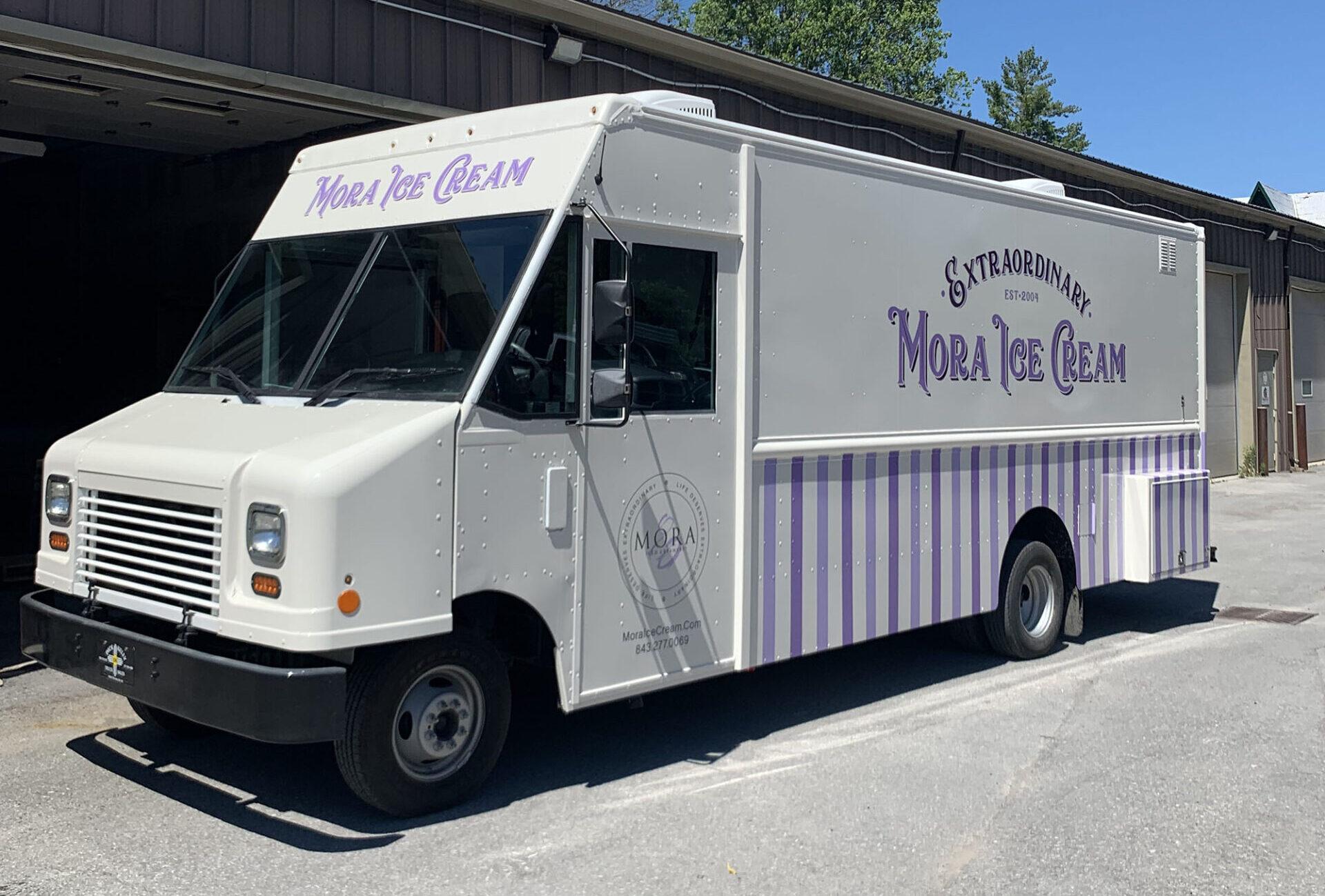 Mora Ice Cream Exterior